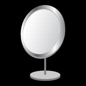 Specchio con modalità luce