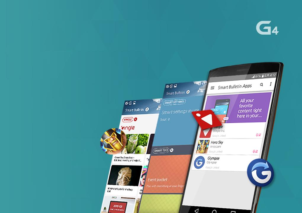[Più intelligente il mio telefono! Smart Bulletin per gli utenti G4]
