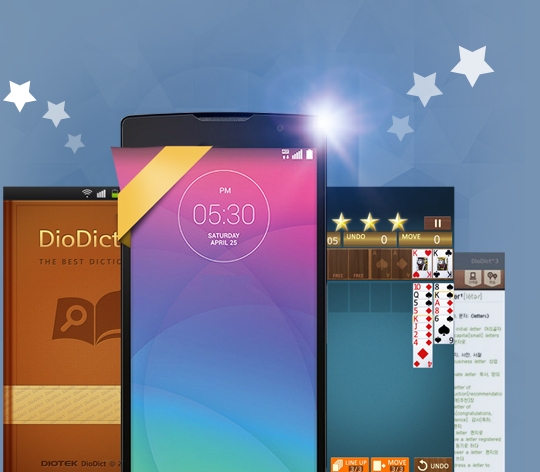 [Classifica negozio di LG SmartWorld] Basta avere le applicazioni più popolari~!
