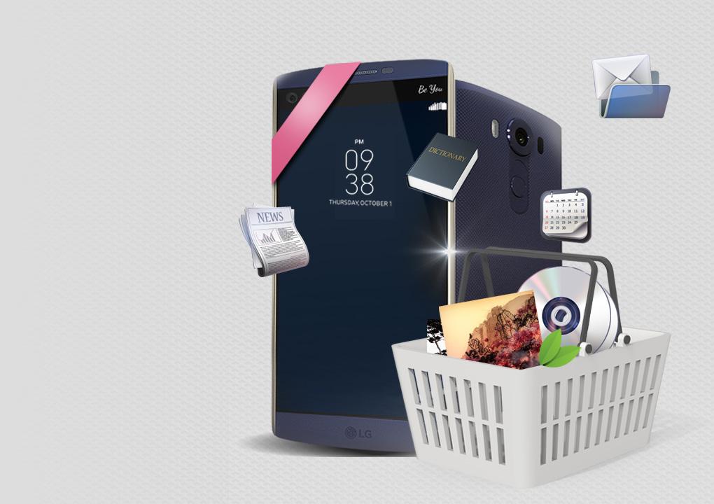 [SmartWorld ottiene fortunato con il nuovo 'LG V10']